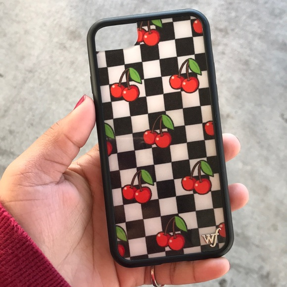 huge selection of 37d3a 89c55 Cherry checkers wildflower case
